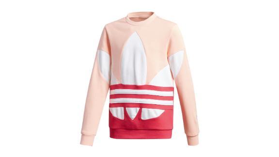 Large Trefoil Crew Sweatshirt