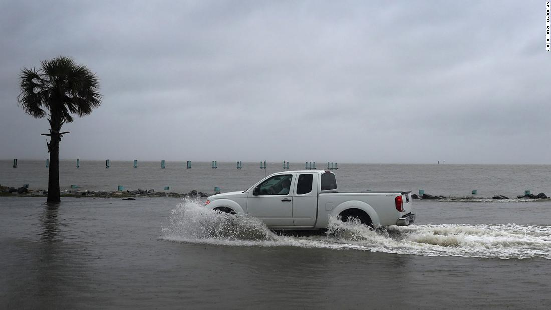 Hurricane Sally is crawling toward the Gulf Coast, and that could mean heavy flooding and lengthy, punishing storm surge