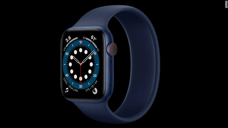 The Apple Watch Series 6 comes with blood oxygen monitoring.