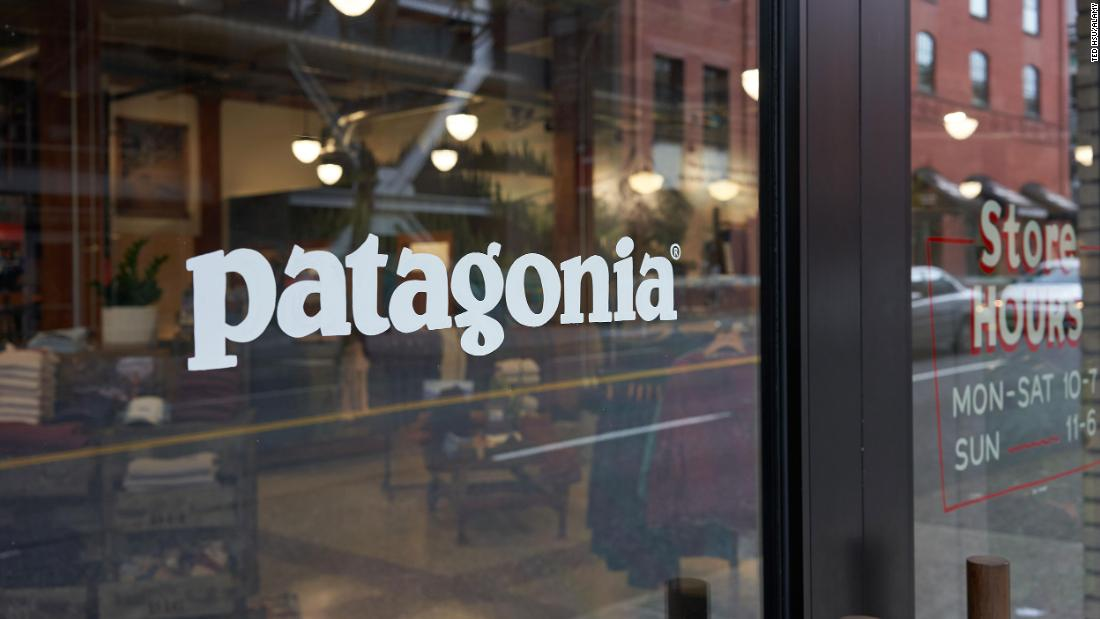 New Patagonia tags: 'Vote the a**holes out'