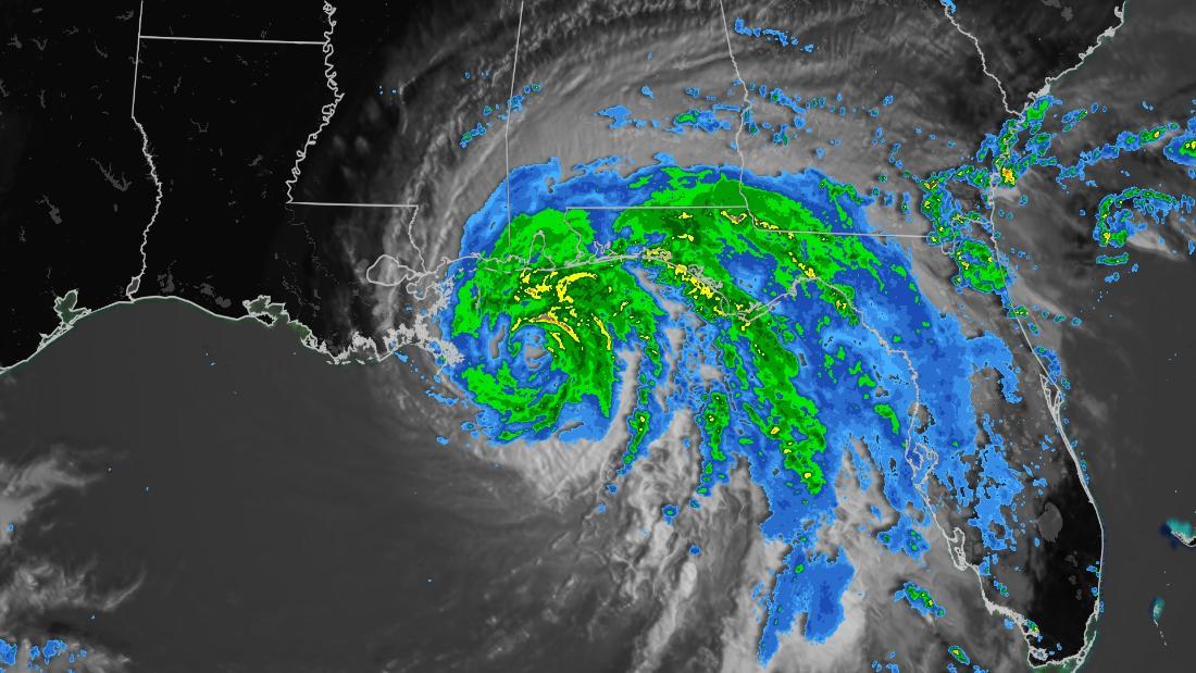 Hurricane Sally's slow crawl toward Gulf Coast could trigger 'historic' flooding