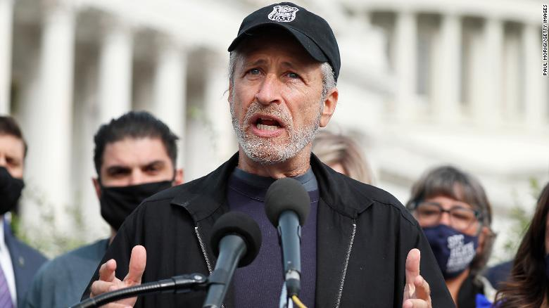 Jon Stewart says Congress is abandoning veterans who inhaled toxic burn pit fumes