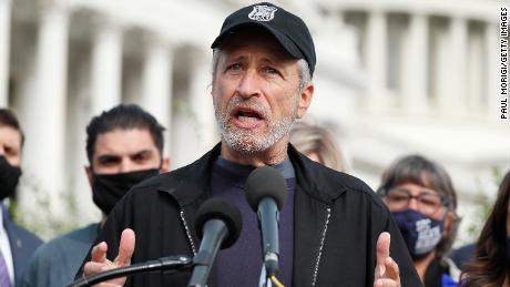 Jon Stewart says Congress is abandoning veterans who inhaled toxic burn pit fumes