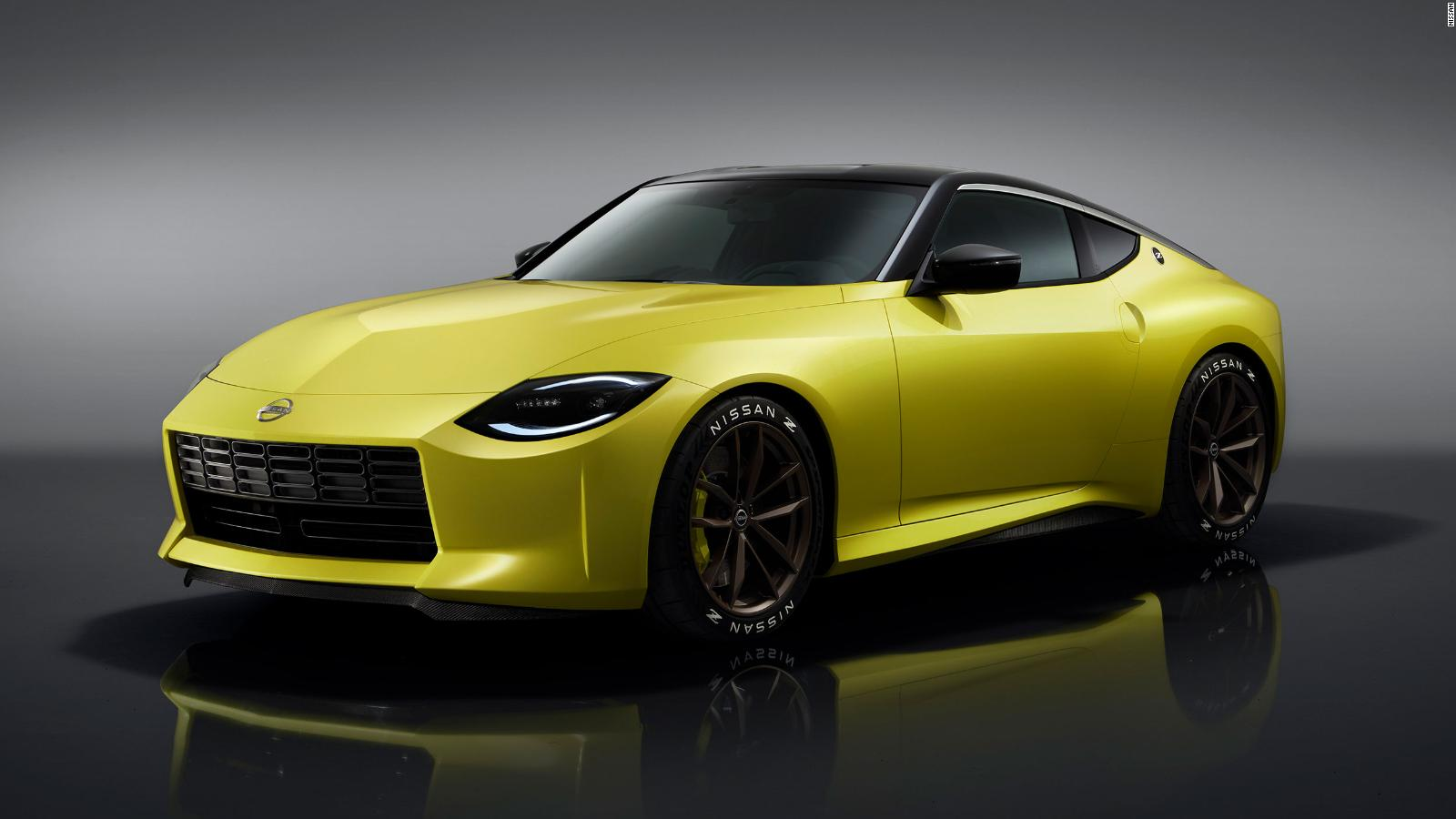 Z Proto Nissan Gives Us An Early Glimpse Of Its First New Z Sports Car In Over A Decade Cnn