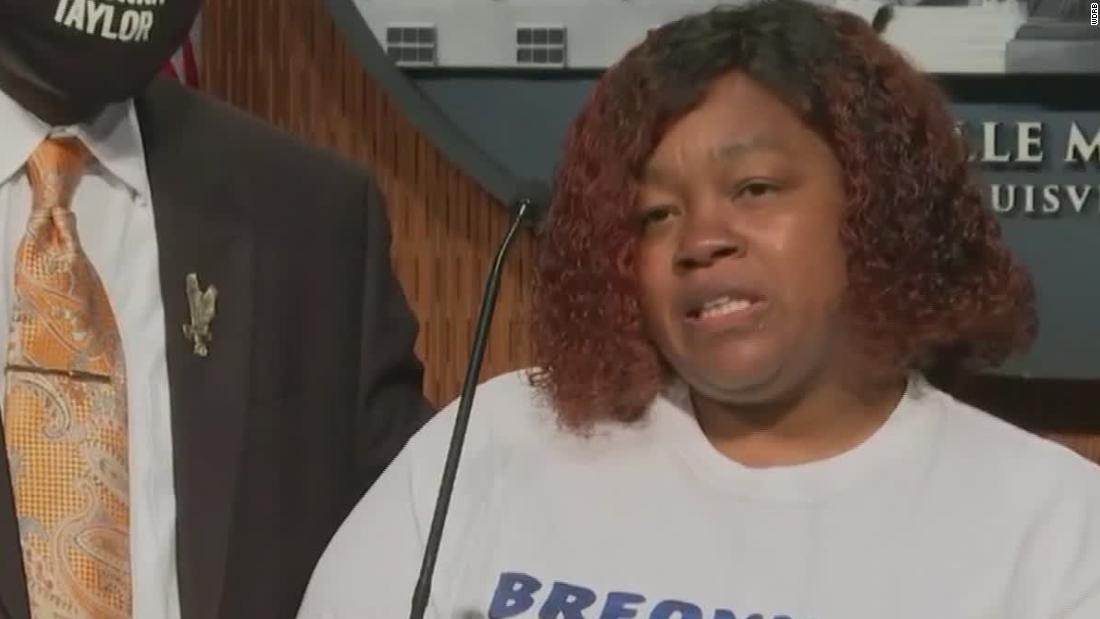 Breonna Taylor S Mother Remember Her Name Cnn Video
