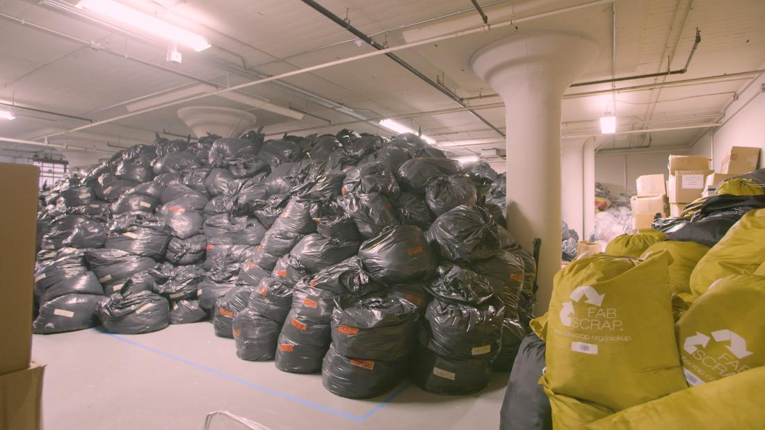 Fabscrap repurposes textile scraps to counter fashion's waste problem