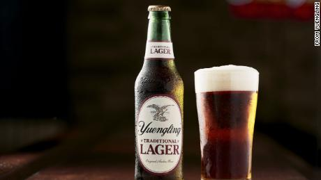 Yuengling lager traditional beer bottle