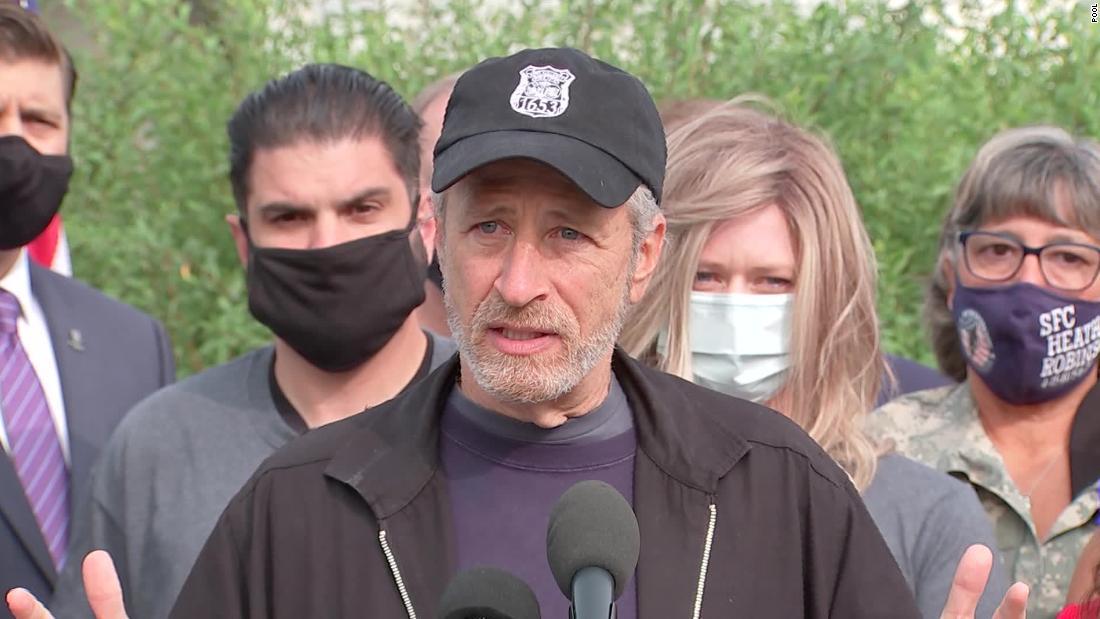 Jon Stewart blasts Congress for giving veterans the cold shoulder