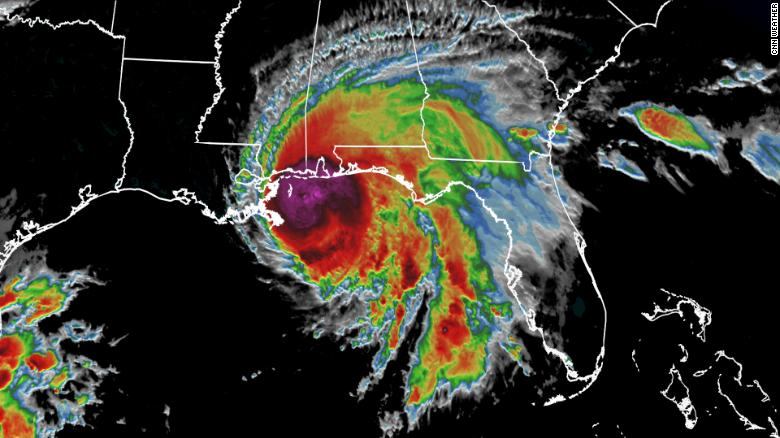 Sally brings hurricane conditions to the Gulf Coast