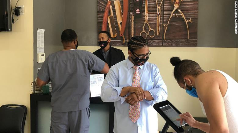 This Black-owned business is bringing health care to the barber chair