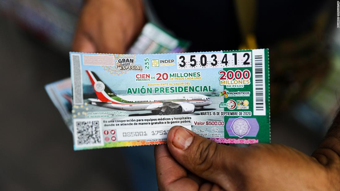 The strange story of Mexico's presidential plane lottery