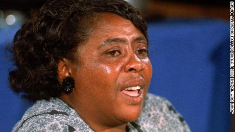 American civil rights leader Fannie Lou Hamer spoke out about her forced sterilization and drew attention to the issue.