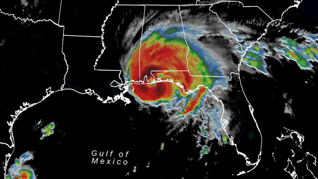 Tropical Storm Sally lashes Alabama and Florida