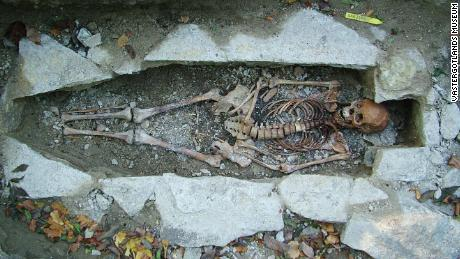Researchers used DNA  technology to analyze remains.