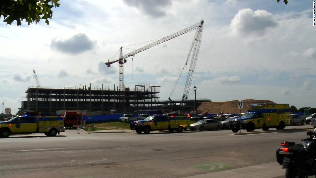 At least 22 injured after cranes collide in Austin, Texas, officials say