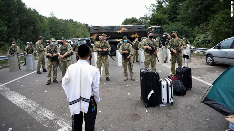 More than 1,000 Jewish pilgrims blocked from entering Ukraine over coronavirus fears