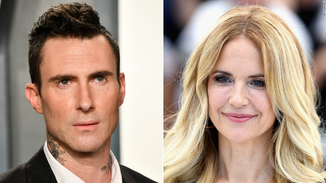 Adam Levine says Kelly Preston taught him how to 'movie kiss'