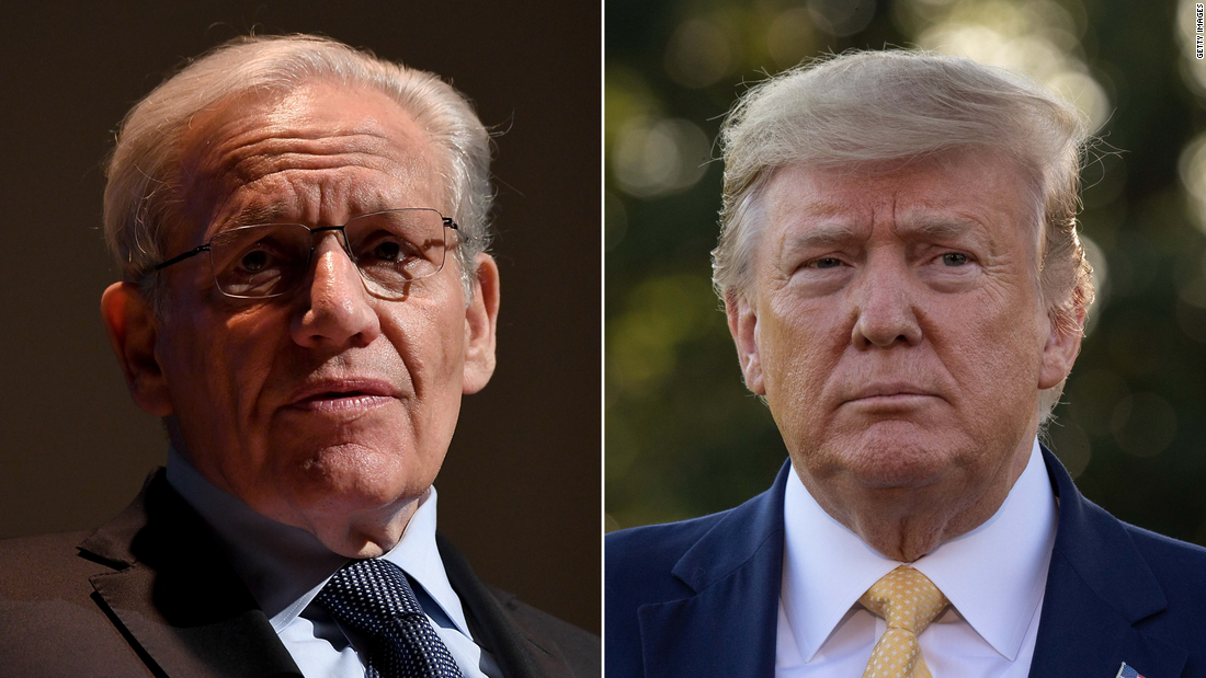 New Woodward audio reveals what Trump said about federal judge vacancies