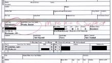 In an accident report submitted by police officers, Daniel Prude's name is circled in red next to a handwritten note that reads: