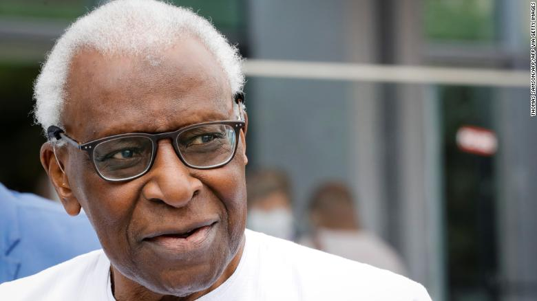Former head of world athletics Lamine Diack is jailed for corruption