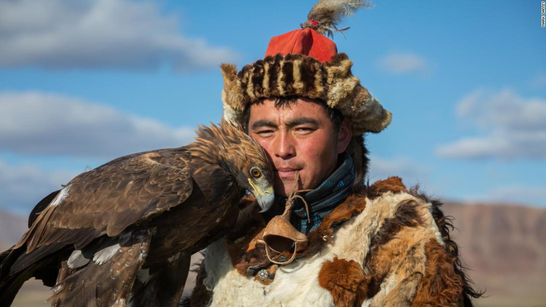 'The girls go crazy over him': Meet Jenisbek Tserik, Mongolia's most eligible eagle hunter