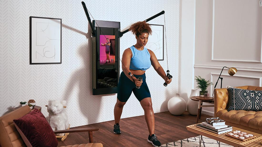 Tonal, the Peloton for strength training, isn't worried about Apple's fitness play