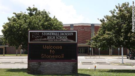 Prince William County voted to rename Stonewall Jackson High School to Unity Reed High School on July 1.