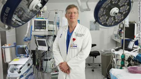 Dr. John Puskas turned Mount Sinai Morningside's cardio ICU into a Covid treatment center.