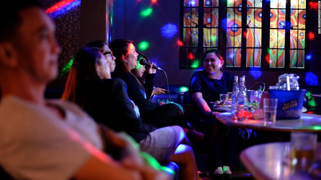 Report noisy karaoke singers to help fight coronavirus, Philippine governor urges public