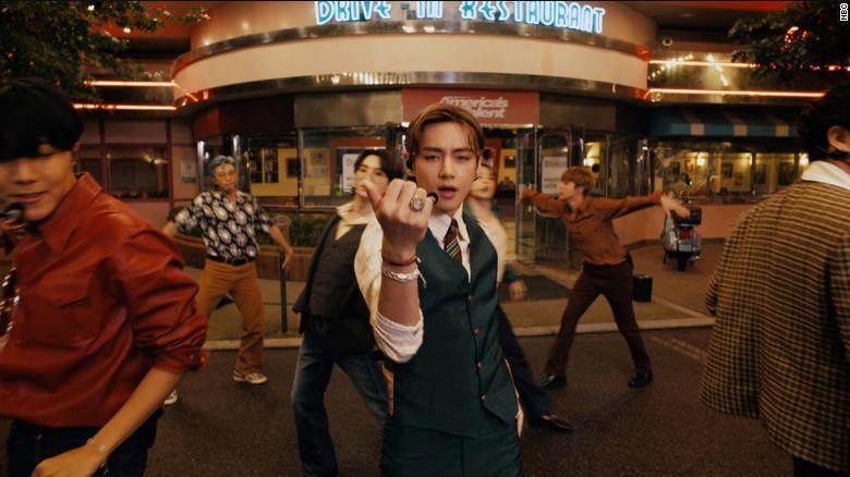 BTS performs explosive hit 'Dynamite' on 'America's Got Talent'