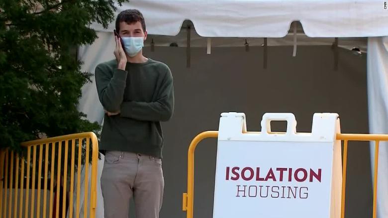Uk Students Quarantined At University As Coronavirus Cases Rise Cnn