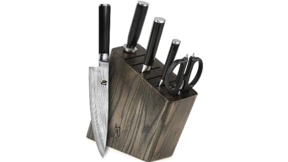 Shun Classic 6-piece Slim Knife Block Set
