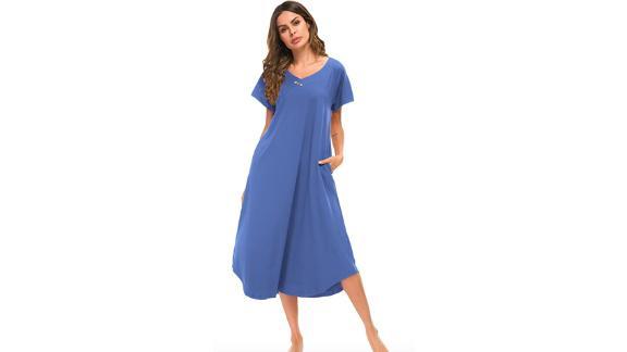 Yozly Nightshirt Women House Dress