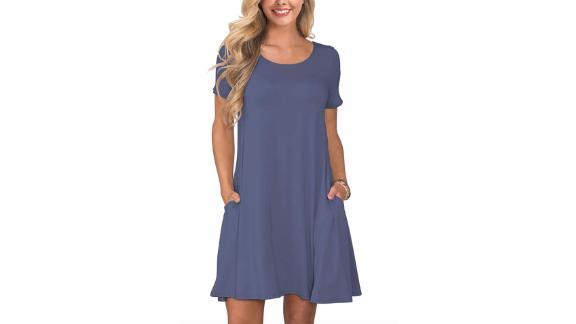 Korsis Summer Casual T-Shirt Dress