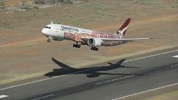 Australian airline Qantas celebrates its 100th anniversary