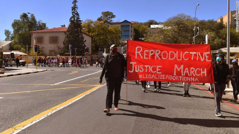 Abortion is legal in Namibia, but only if a woman is in danger or has been sexually abused. Activists are demanding reform