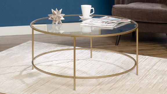 Sauder Int Lux Coffee Table Round