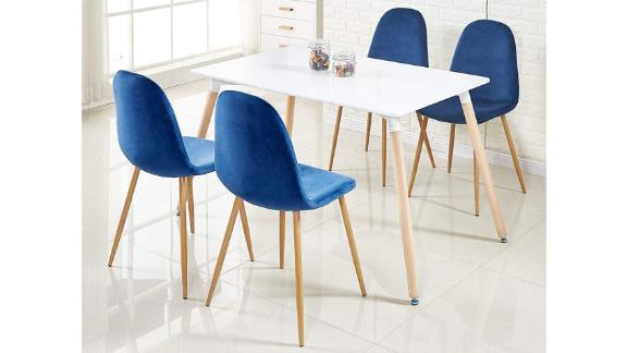 GreenForest Dining Chairs, Set of 4