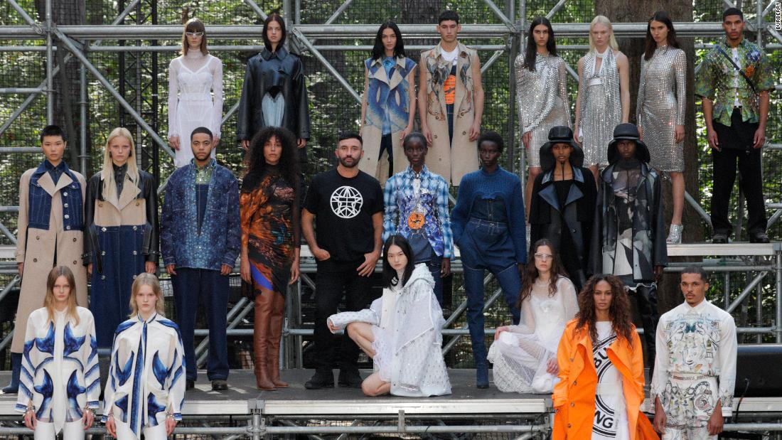 London Fashion Week: Designers put to the test against a struggling market and more social restrictions – CNN
