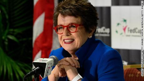 Tennis legend Billie Jean King cements her legacy