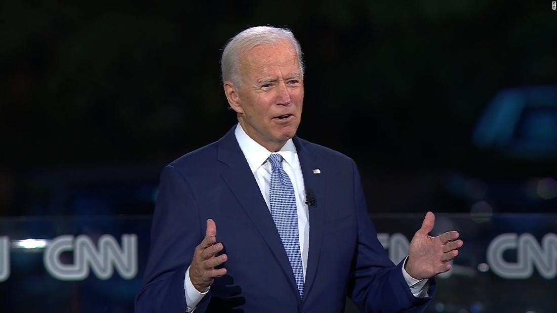 Biden: 'I don't trust the President on vaccines. I trust Dr. Fauci'