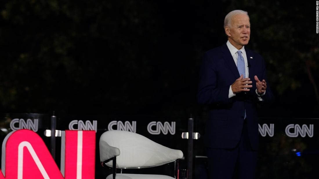 Biden is asked if he benefited from White privilege