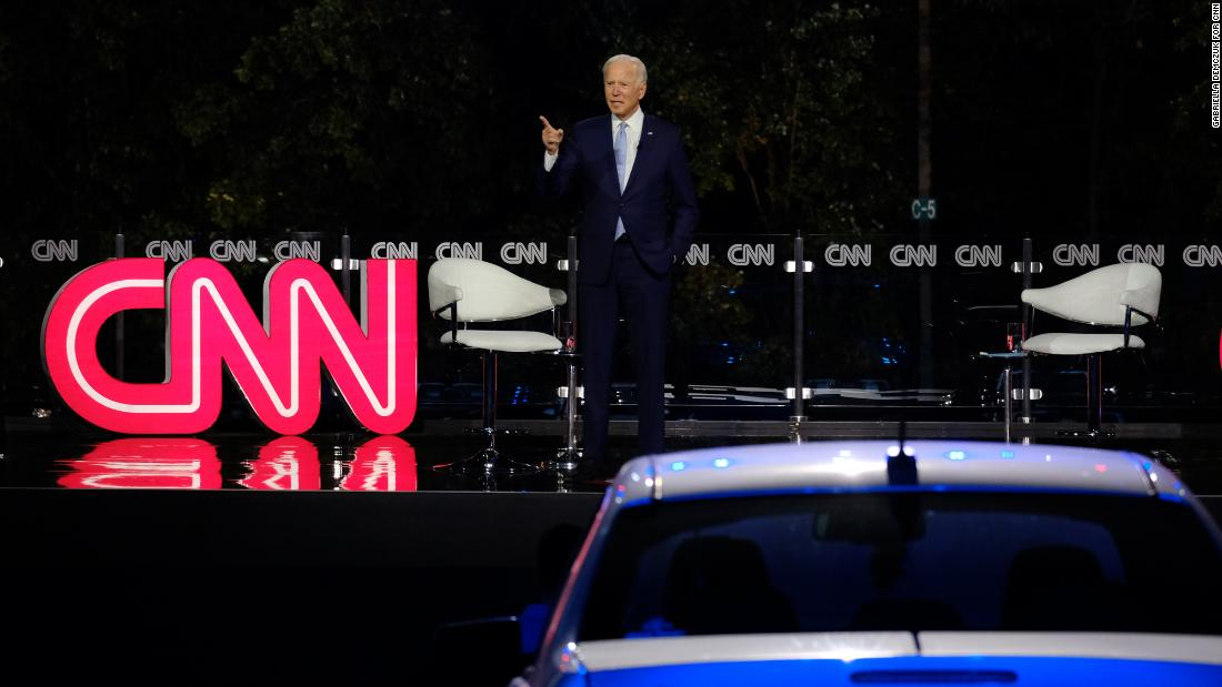 The Point: This was the most important (and powerful) moment in Joe Biden's CNN's town hall
