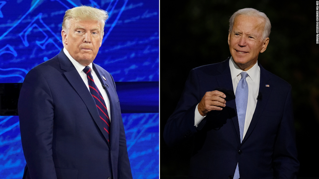 The impression given by Biden was unrecognizable compared to the President's mockery. It's possible Trump's efforts to portray his rival as senile will backfire.