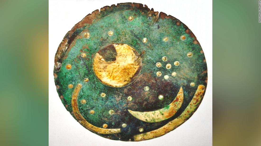 Nebra sky disc: Prehistoric star map's Bronze Age pedigree in question -- by 1,000 years