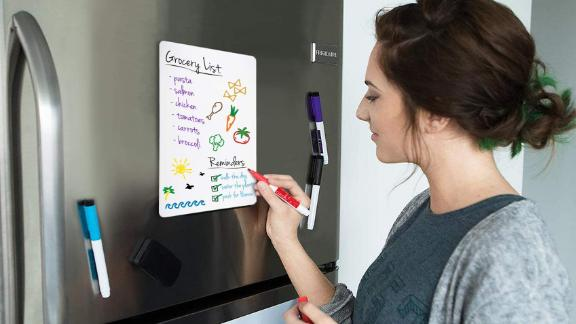 Cinch Magnetic Dry Erase Whiteboard Sheet for Kitchen Fridge