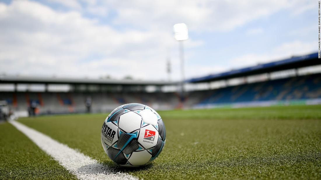 German football team loses 37-0 after practicing social distancing