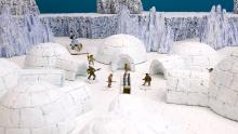 Wardhaugh has built terrain to accompany the game, and has accumulated 20,000 miniatures.