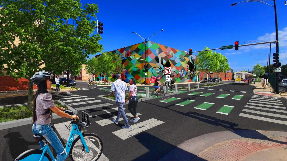 Lyft sketches a future for city streets with fewer cars
