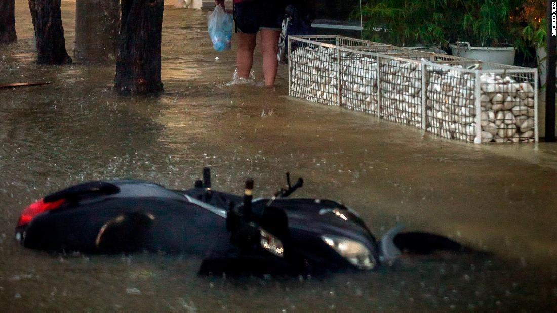 Rare Mediterranean hurricane batters Greek islands